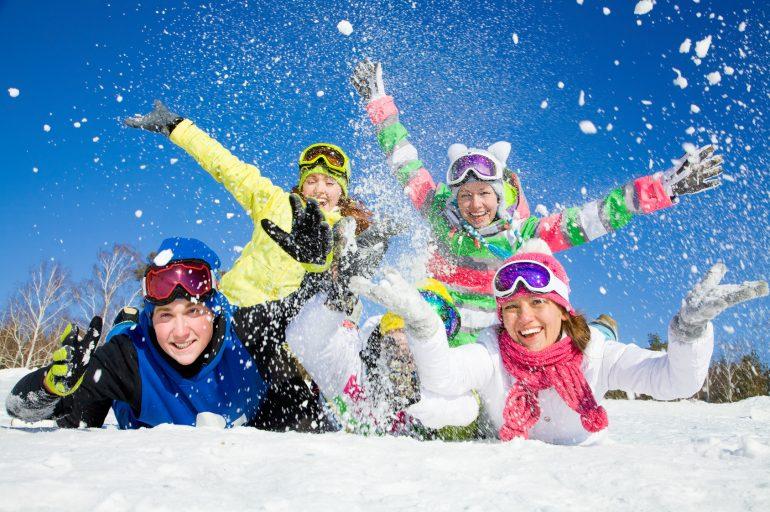 Schneeflocken in Trentino